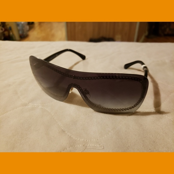 CHANEL Accessories - Authentic Chanel Shield Sunglasses NWT